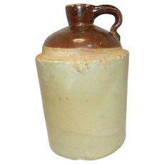 Vintage Stoneware Whiskey Jug