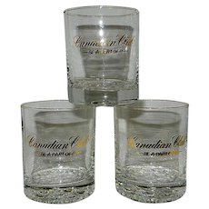 Vintage Canadian Club Whiskey Be A Part Of It Old Fashioned Glasses