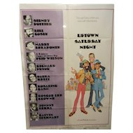 "Vintage One Sheet 27"" x 41"" Uptown Saturday Night Movie Poster"