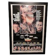 Vintage 27 x 41 Original  The Towering Inferno (1974)Movie Poster