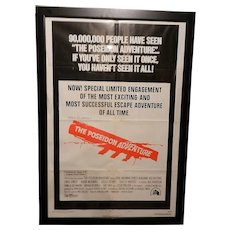 Vintage Original 1974 Re-release 27 x 41 The Poseidon Adventure Movie Poster
