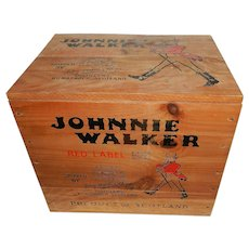 Johnnie Walker Red Label Scotch Whiskey Transport Box