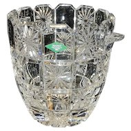 Vintage Godinger Shannon 24% Leaded Crystal Champagne Ice Bucket