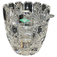 Vintage Godinger Shannon 24% Leaded Crystal Champagne Ice Bucket