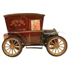 Vintage Jim Beam Jewel Home Shopping Service 75th Anniversary Decanter 1899-1974.