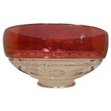 Vintage Tiffin Kings Crown Footed Bowl
