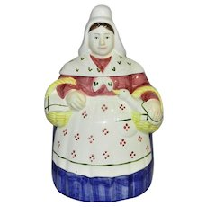 Vintage Haldon Group Grandmother Cookie Jar