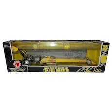 Vintage Eddie Hill 1/24th Die Cast Metal Top Fuel Dragster Signed