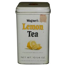 Vintage Wagner's Lemon Tea Tin