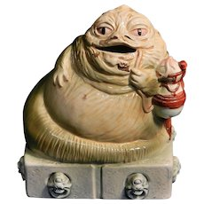 Vintage 1983 Ceramic Jabba the Hutt Bank by Sigma