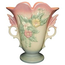 "Vintage Hull Wildflower Pattern W9  8 ½"" Vase"