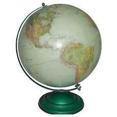 Vintage 1950's GlobeMaster 12 inch Globe