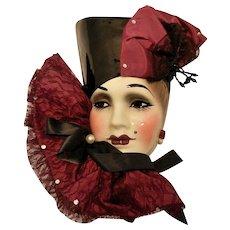 Vintage Woman Drama Mask