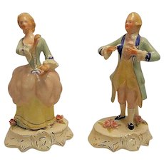 Vintage Pair of Coventry Francois and Yvonne Figurines 5067B & 5066B