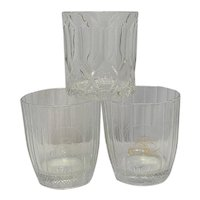 Vintage Crown Royal Old Fashioned Glasses