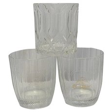 Vintage Crown Royal Old Fashioned Glasses