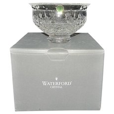 "Vintage Waterford Killarney Lead Crystal 6"" Bowl Made In Ireland"