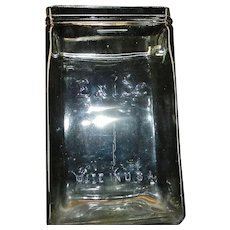 Vintage Exide Glass Battery Jar