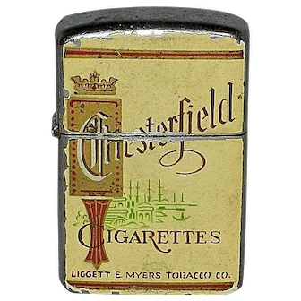 Vintage Royalite Chesterfield Cigarette Lighter Liggett & Myers Tobacco Company