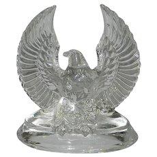 Vintage Stolzle Kristall Beikristall Austria Eagle Paperweight/Figurine