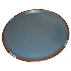 "Vintage Dansk Mesa Sky Blue 10 3*/8"" Dinner Plate Made in Japan"