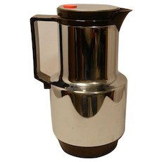 Vintage  Rotpunkt Beverage Carafe, Dr. Zimmerman, Rido Busse Design,  Hersfeld W. Germany
