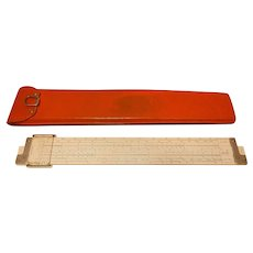 Vintage 1947 Keuffel & Esser Co. N. Y. #4081-3 Slide Rule