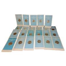 Vintage Franklin Mint  Signers of Declaration of Independence 1972-76
