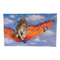 Michael Godard Butterfly Limited Edition Giclee Print