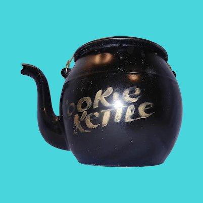 Vintage Mid-Century McCoy Kookie Kettle Cookie Jar