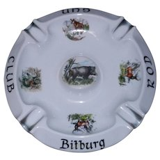 Vintage Bitburg Air Force Base Post WWII Ashtray