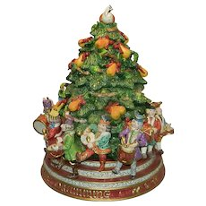 A Fitz and Floyd Twelve Days of Christmas Cookie Jar
