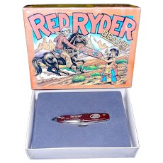 Vintage Red Ryder RR1 Camp Knife NIB