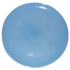 """Vintage Russel Wright Casual Blue by IROQUOIS 13"""" Chop Plate (Round Platter)"""