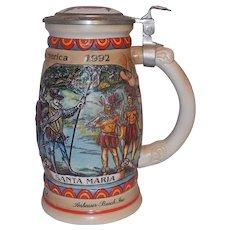 Budweiser Discover America Series Santa Maria Beer Mug #16471