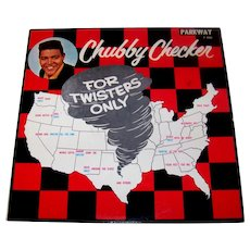 Vintage 1961Chubby Checkers Capitol Records Vinyl Album