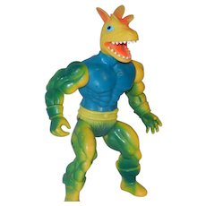 Vintage Remco Warrior Beasts Zardus Gecko Yellow / Green Rare Action 1982 Figure