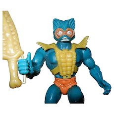 Vintage Mer-Man MOTU (Master of the Universe) Figurine 1981