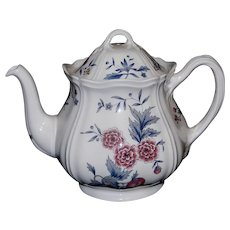 Vintage Teapot & Lid Williamsburg Potpourri by WEDGWOOD NK510