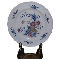 Vintage Dinner Plate Williamsburg Potpourri by WEDGWOOD NK510