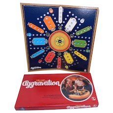 1982 Aggravation Game Deluxe Party Edition by Lakeside Complete