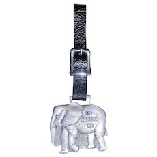 Vintage 1972 Presidential Election Elephant Nixon Watch Fob