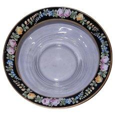 Vintage Hand Painted Salad or Fruit Bowl