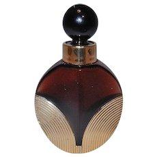 Vintage Houbigant Raffinee Empty 7 ml Perfume Bottle from the  80's