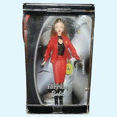Vintage Ferrari Collectible Barbie Doll 2000