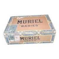 "Vintage Muriel ""Babies"" Cigar Box"