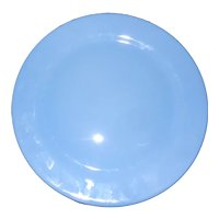 "Vintage Taylor, Smith & Taylor Luray Pastel Blue 14"" Chop Plate"
