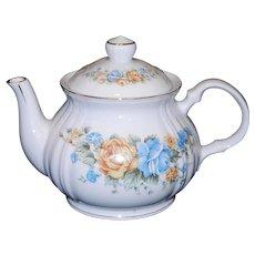 Vintage Floral Teapot made in Japan
