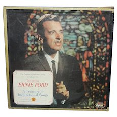 Vintage Tennessee Ernie Ford Treasury of Inspirational Songs Boxed Set Vinyl Record (6)  SYS 5164 Stereo