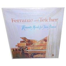 Vintage Ferrante & Teicher Romantic Moods Twin Pianos Longines Symphonette LP 1972
